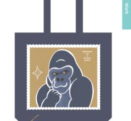 動物園トートバッグ