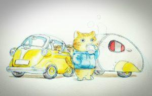 愛知県名古屋市のイラストレーター『かわいたかひろ』
