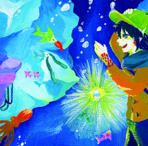 愛知県名古屋市の絵本作家・イラストレーター『はしももか』